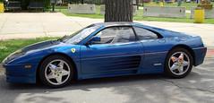 race car, automobile, wheel, vehicle, automotive design, ferrari 348, ferrari s.p.a., land vehicle, luxury vehicle, supercar, sports car,