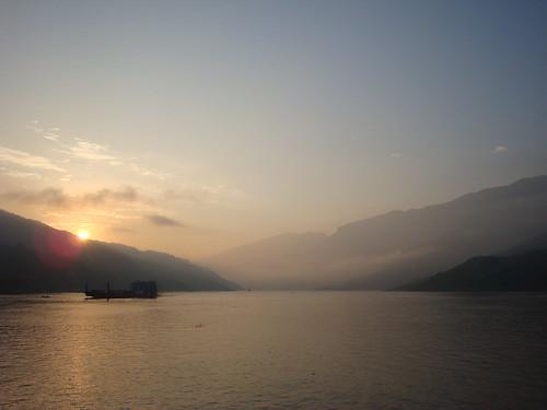 china morning mountains sunrise rivers favourites yangtze chongqing gorges threegorges qutanggorge yangsi