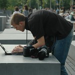 Photojournalist in Action - Berlin, Germany