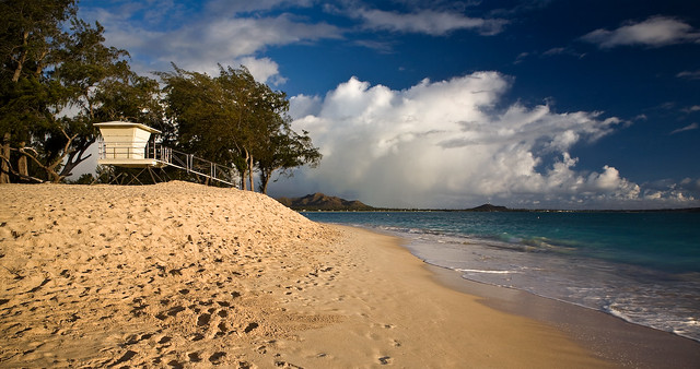 Kailua Beach Lifeguard Station