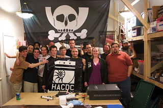 HacDC Opening Night Portrait