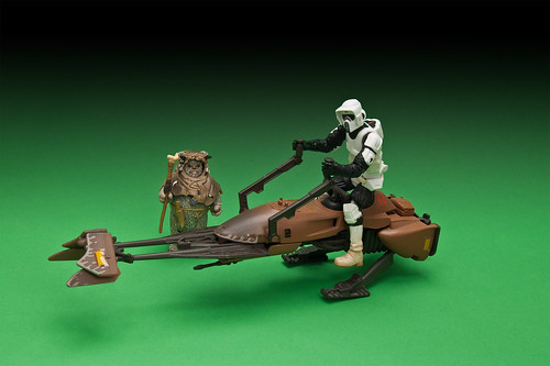 Biker Scout on Speeder Bike