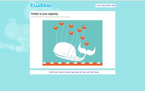 Twitter - Over capacity