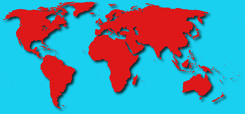 World Map 3d View.World Map 3d Stockpholio Com Free Stock Photos