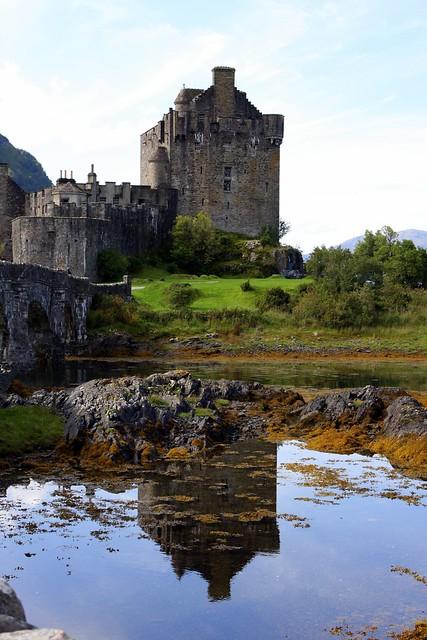 Reflecting on Eilean Donan...