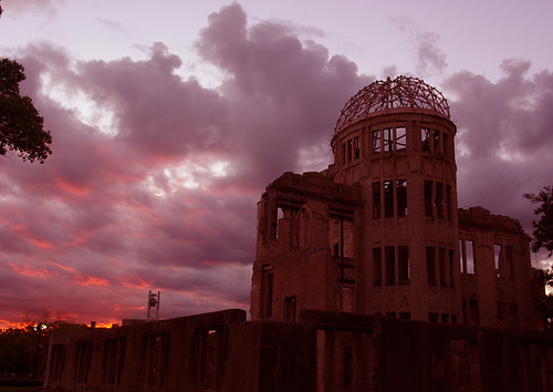 A-Bomb Dome at Sunset [Worldheritage]