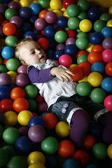 play, ball pit, green, ball, toy,