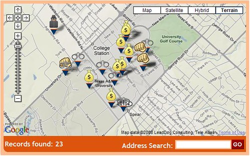 Texas AampM University Crimes Map  Ucrime  Flickr