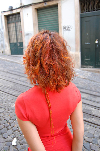Hair Color Fire Red  Hair Color By Neria  By Wiphairport  Flickr  Photo