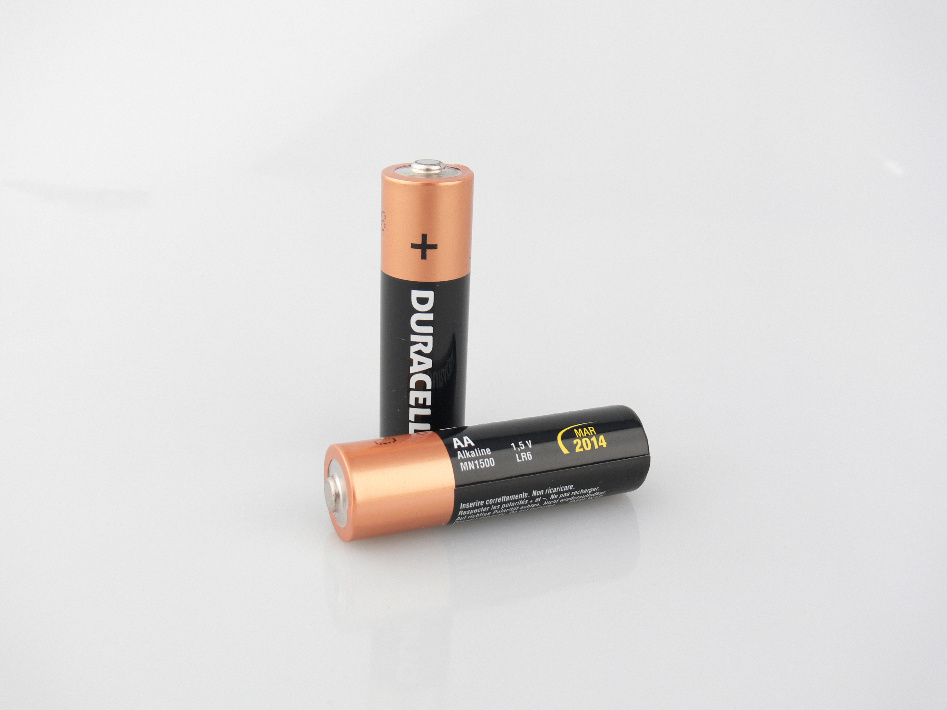 Duracell battery AA type