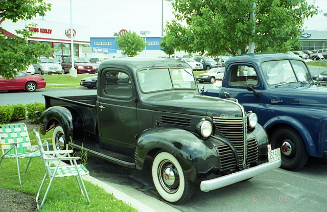 1940 Plymouth Pickup Chrysler Product Owners Club Show