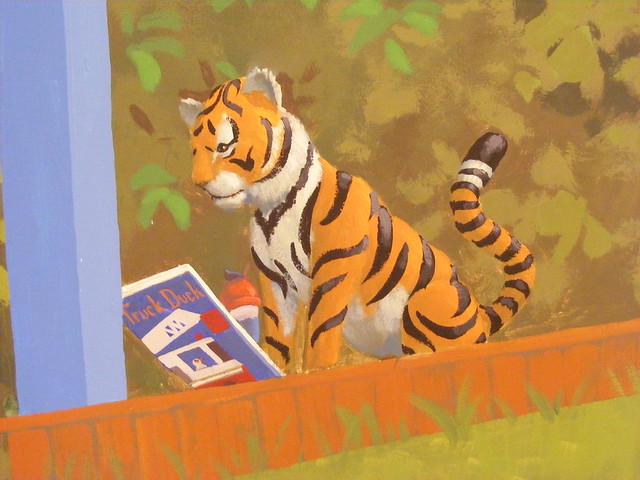 Tiger Reading
