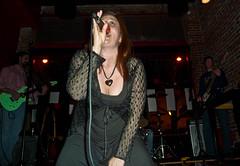 Krista Ravengael, Lead Singer, Grape Fungo