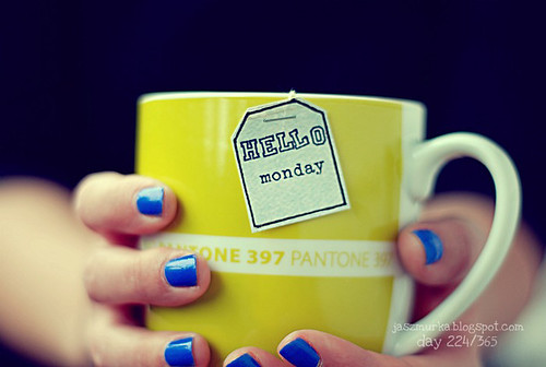 day 224/365 [hello monday]