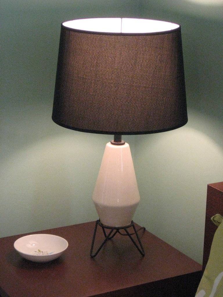Vintage lamp on