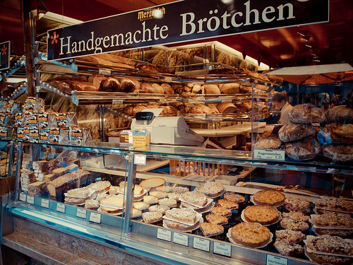 Bakery in Frankfurt, Germany