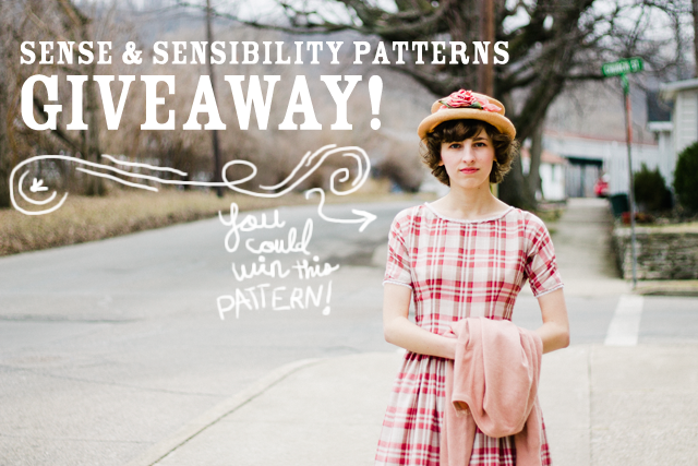 Pattern Giveaway from Sense & Sensibility Patterns!