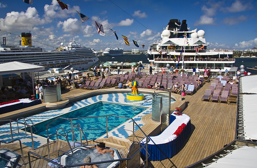 Westerdam Pool Deck by Phil Comeau