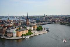 Stockholm's view from Stadshuset - Stockholm - Sweden