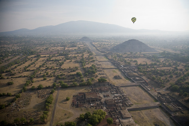 over teotihuacan