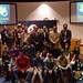 Ganadores de los Premios Galicia Innovación Junior 2008 al final de la entrega de galardones, celebrada en el salón de actos de Tecnópole. 6/6/2008