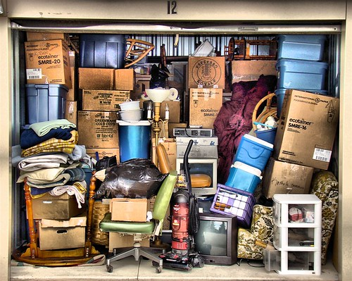 All my worldly possessions...