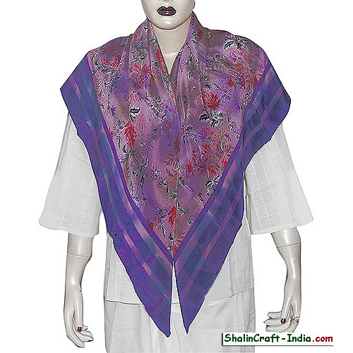 neck scarf shalincraft women accessory handmade by indian artisans  Neck Scarves For Women