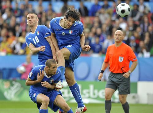 UEFA EURO 2008 - Campionati Europei di Calcio - Italia Romania