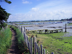 Jetty in Chichester Harbour