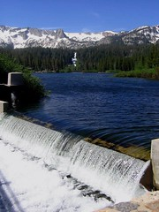 Twin Lakes Dam, Mammoth Lakes, California