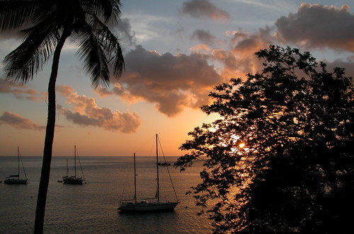 ocean new travel sunset vacation favorite hot nature silhouette clouds relax boat cloudy postcard best stlucia blueribbonwinner windwardislands lesserantilles abigfave jalousieplantation ferencseitzphotography