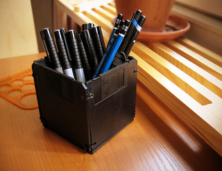 Sunday DIY - Floppy Disk Pen Holder - 5/5