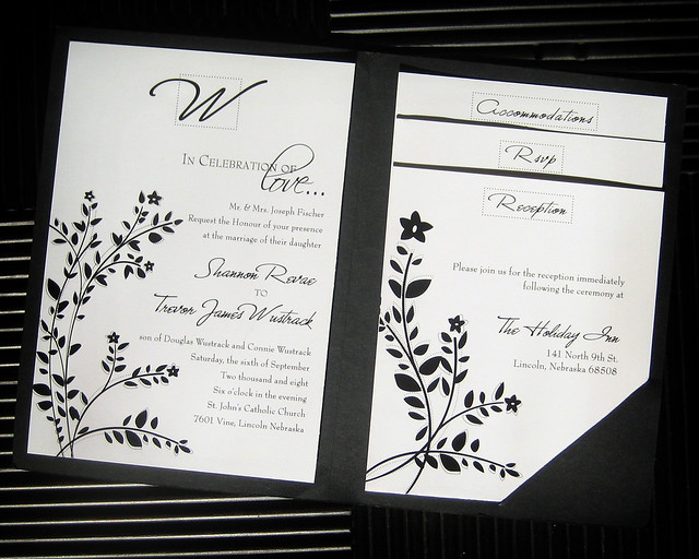 Wedding Gift Etiquette Evening Guests : Wedding Invitation Flickr - Photo Sharing!