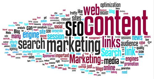 online marketing blog wordle - from toprankblog.com