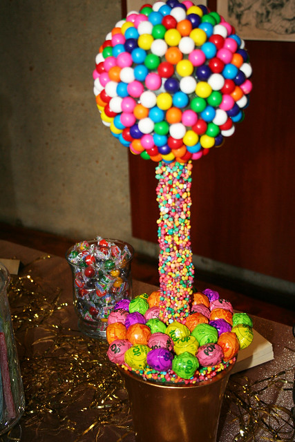 Candy ball centerpiece flickr photo sharing