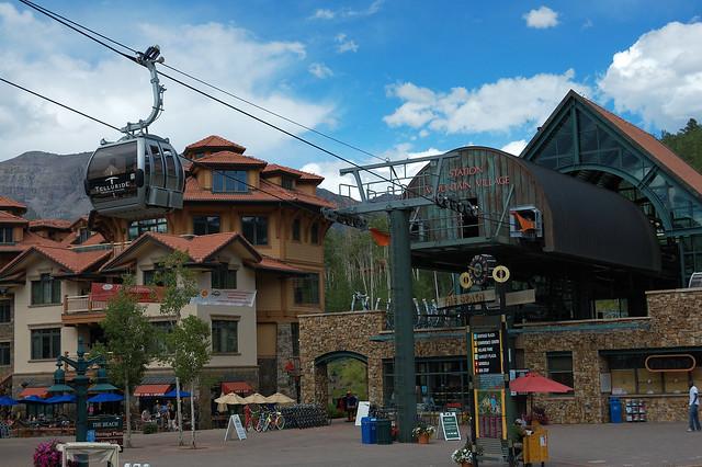 Gondola Station - Mountain Village, Colorado