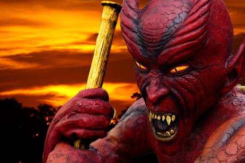 sunset red portrait orange black halloween yellow canon eos gold scary fb gimp indiana devil devilish monticello ferocious rensselaer whitecounty 50d jaspercounty frightnening inhalloween craigsorenson 20081028220055z