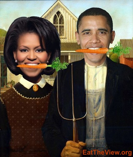 Obamas' American Gothic - for blogs - 1