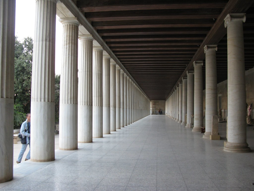 Stoa of Attalos (Athenian Agora), Athens, Greece