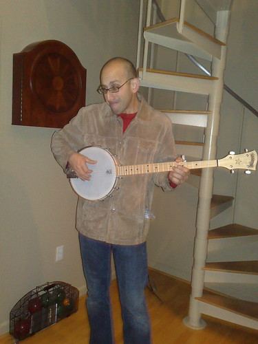 Banjo Playing Geoff Bob Livingston