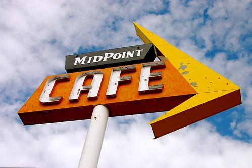 MidPoint Cafe, Adrian, Texas