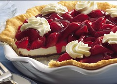 Black Bottom Strawberry Cream Pie Recipe