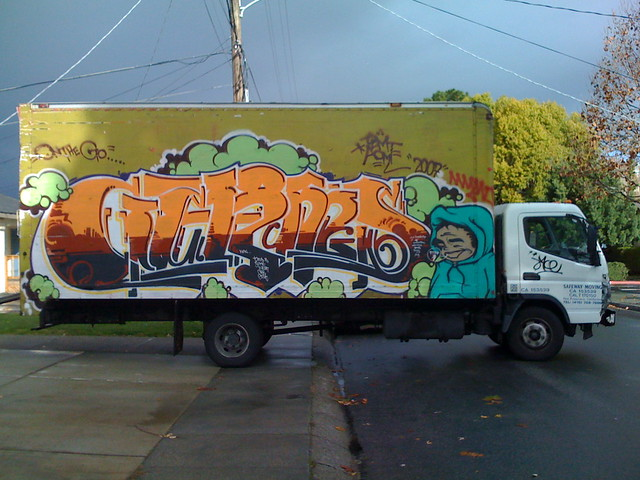 Safeway Movers Truck (LOL) from Flickr via Wylio