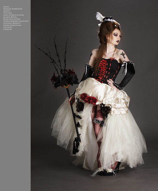 Gothic wedding was lucky enough to be working with a for Wedding dresses gothic style