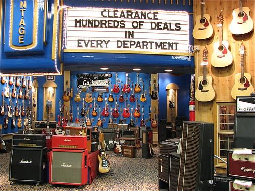 flickriver photoset 39 guitar center 14th street new york city 39 by oliverchesler. Black Bedroom Furniture Sets. Home Design Ideas
