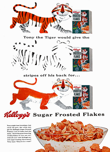 Sugar Frosted Flakes, 1954