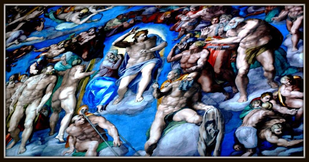 Michaelangelo - sistine chapel
