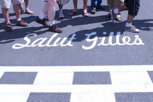 Salut, on the 30th Anniversary of Gilles' Victory
