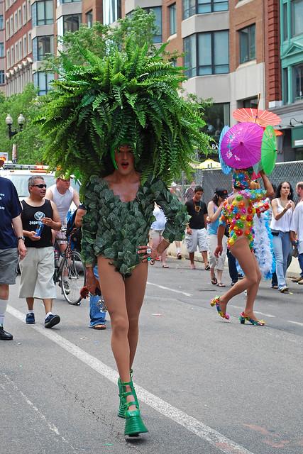 Gay pride parade route 2008