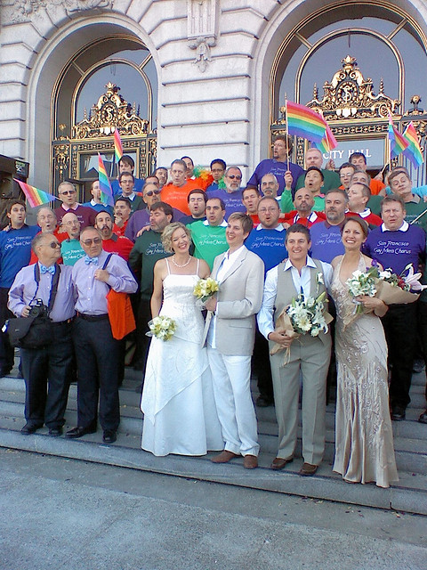 San francisco gay marriage mayor